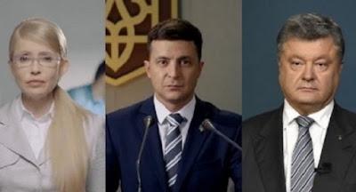 Зеленский лидирует в рейтинге КМИС, на втором месте – Порошенко