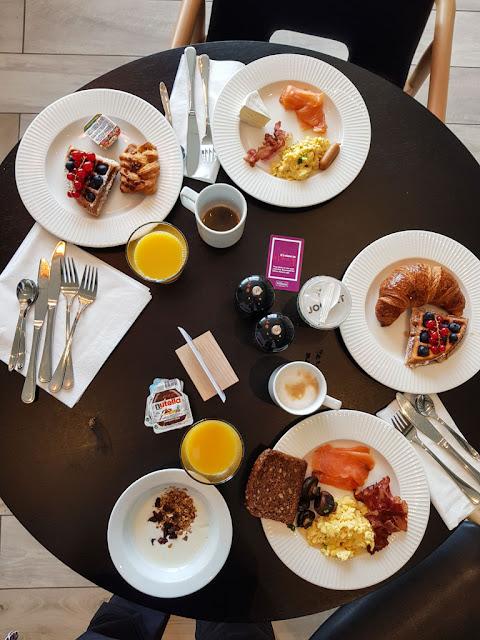 Hotel Hilton Garden Inn-Isole Faroe-Colazione-Breakfast