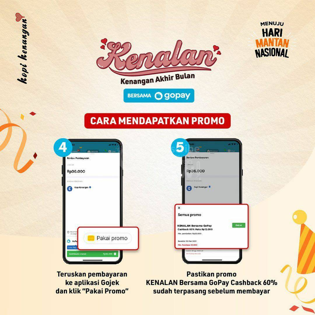 Kopi Kenangan Promo Gopay Cashback 60% hingga Rp. 12.000 4