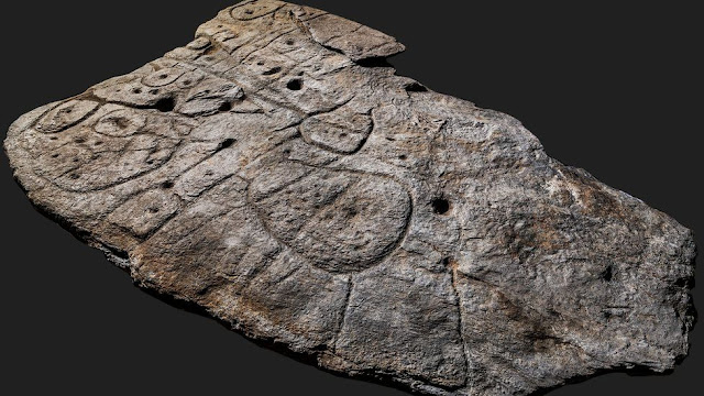 Researchers discover the oldest known map in Europe - the Saint-Bélec Slab