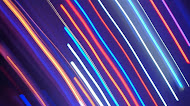 Electric blue cable line laser light wallpaper