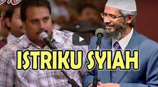 [Video] Pemuda ini Mengaku Istrinya Syiah dan Melarangnya Datang Ke Acara Dr. Zakir Naik