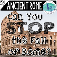 Product Thumbnail for Can You Stop the Fall of Rome simulation by History Gal