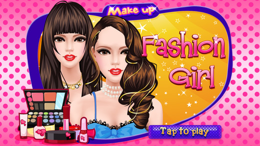 Make Up Salon gameplay