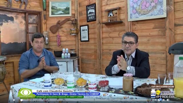 Dr. Braga é o convidado do Café com Claudinho para falar sobre coronavírus