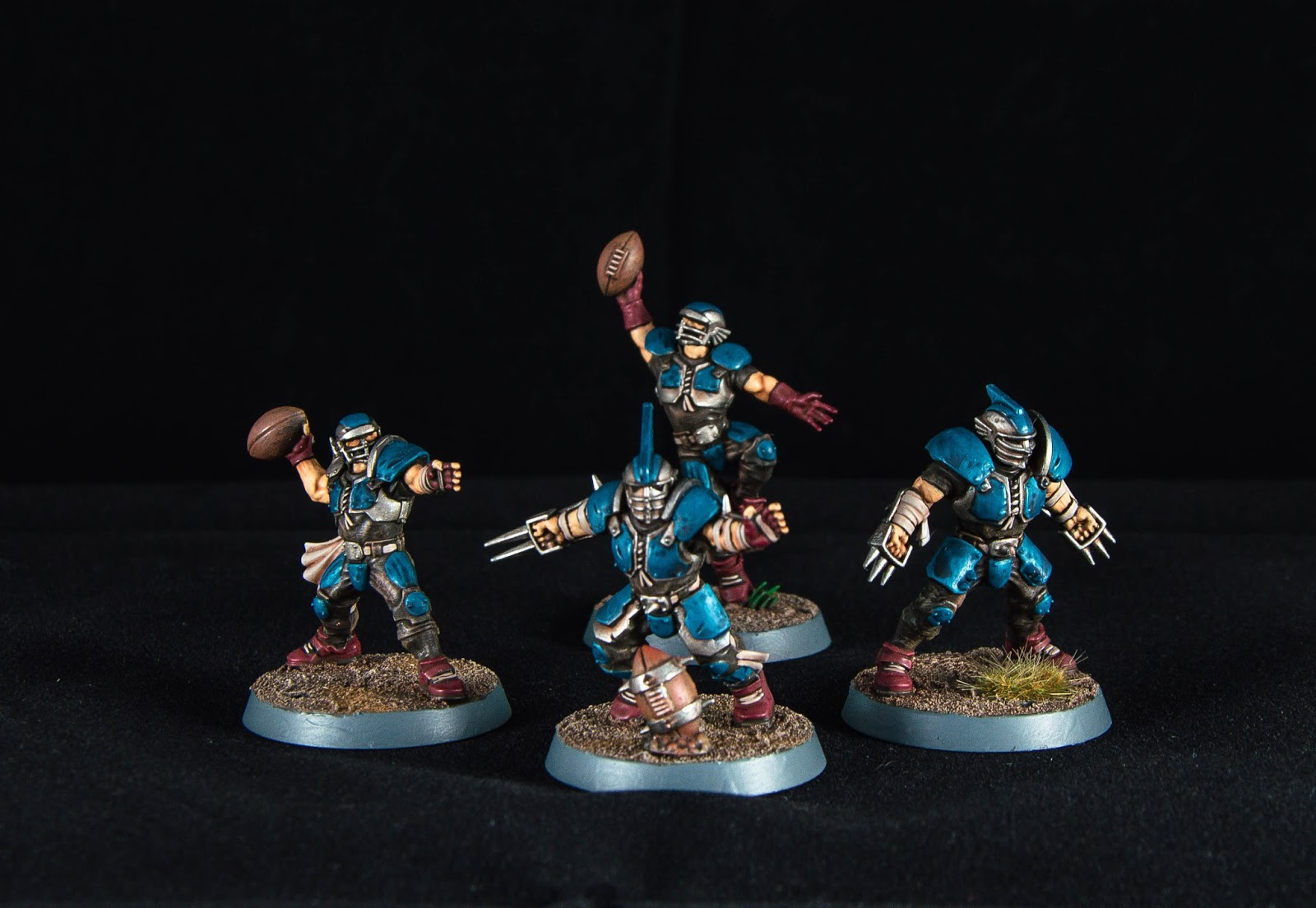 Tsc The Simulus Chamber How I Did It Blood Bowl Human Team