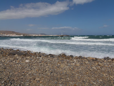 Sea, beach, rough seas, greece, crete,
