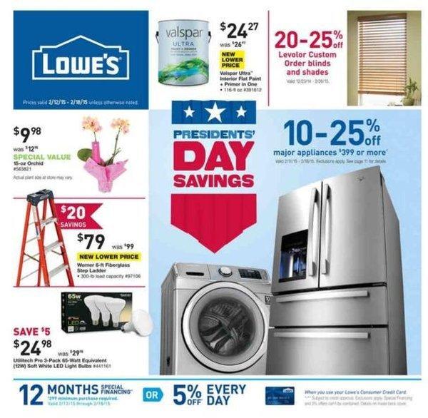 Presidents Day 2017 TV Appliance Mattress Sale
