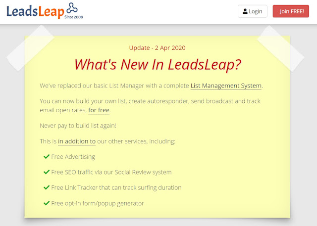 LeadsLeap features