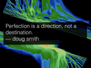 perfection is a direction