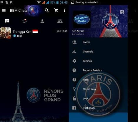 MOD BBM Paris Saint Germain v2.12.0.9 Clone