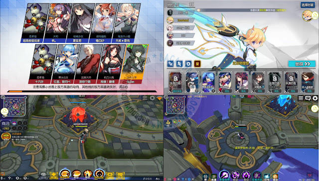 Dimensional daisakusen apk 2.15 terbaru 次元大作战 MOBA Anime