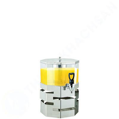 Bình đựng nước tiệc buffet loại bát giác 1 tầng 4 lít BC2226-1