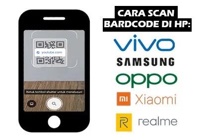 cara scan bardcode di hp sendiri