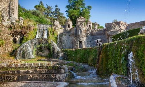 Villa d'Este, Italia
