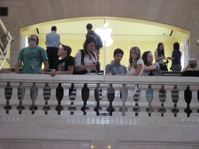 The Apple Store has replaced the East Balcony of Grand Central Station where the Coloramas were once displayed