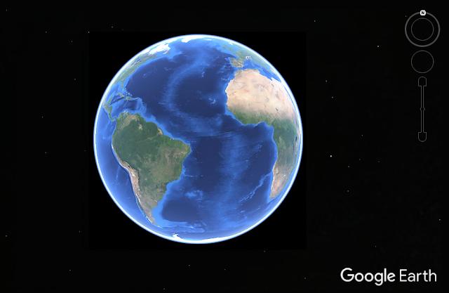 Tips belajar di rumah pakai google earth
