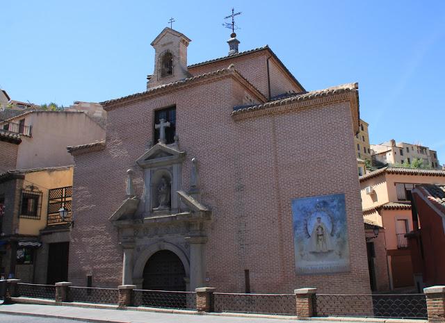 Толедо, Испания – церковь (Toledo, Spain – church)