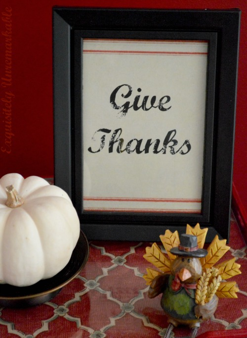 Give Thanks Printable