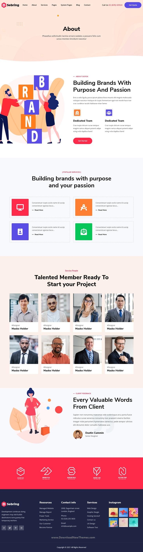 Creative Agency HubSpot Theme