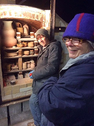 Soda Kiln Loading at Penland School of Crafts by Future Relics