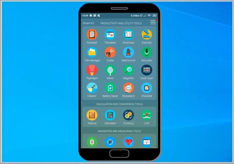 Smart Kit 360 : Όλα σε ένα με περισσότερες από 40 πρακτικές εφαρμογές