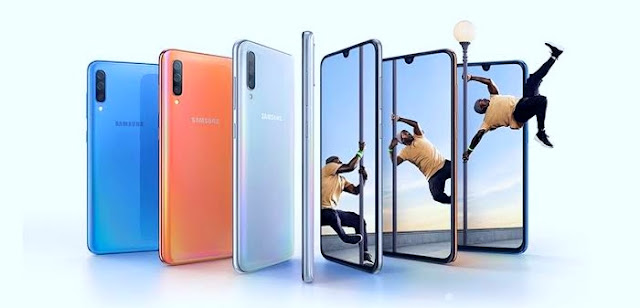 Samsung Galaxy A70s is announced with a 64-pixel camera and a new design