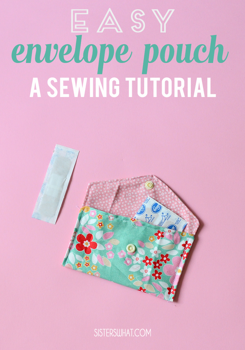 how to sew an easy band aid kit
