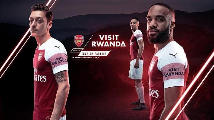 Rwanda becomes Arsenal's first sleeve sponsor in 3 year partnership