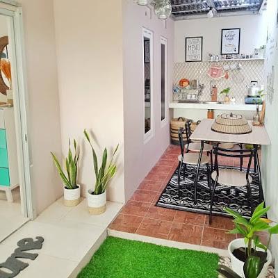 gambar dapur kecil terbuka