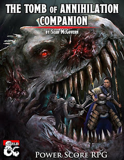 Power Score Dungeons Dragons A Guide To Tomb Of Annihilation