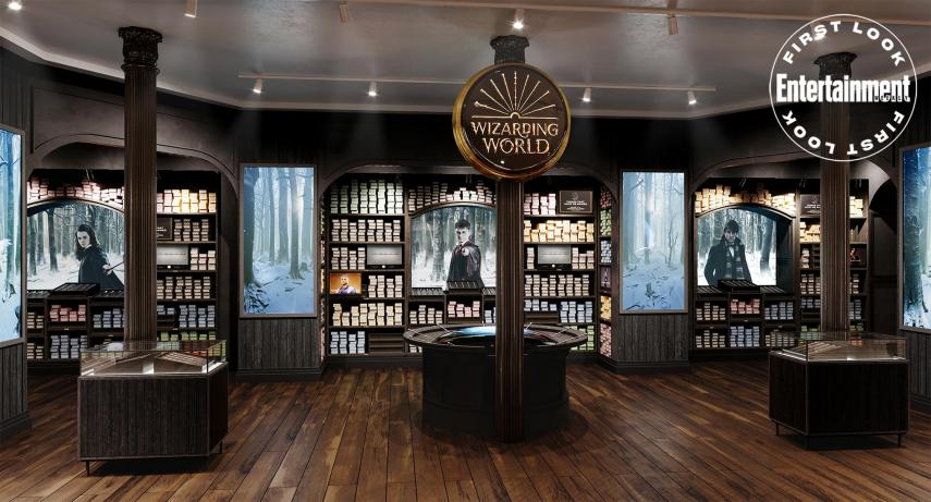 First look at the official Harry Potter store