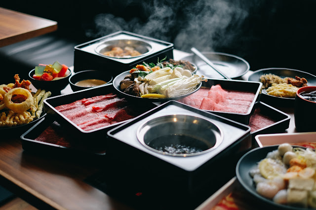 Menu Makan Siang di Shabu Shabu Gen