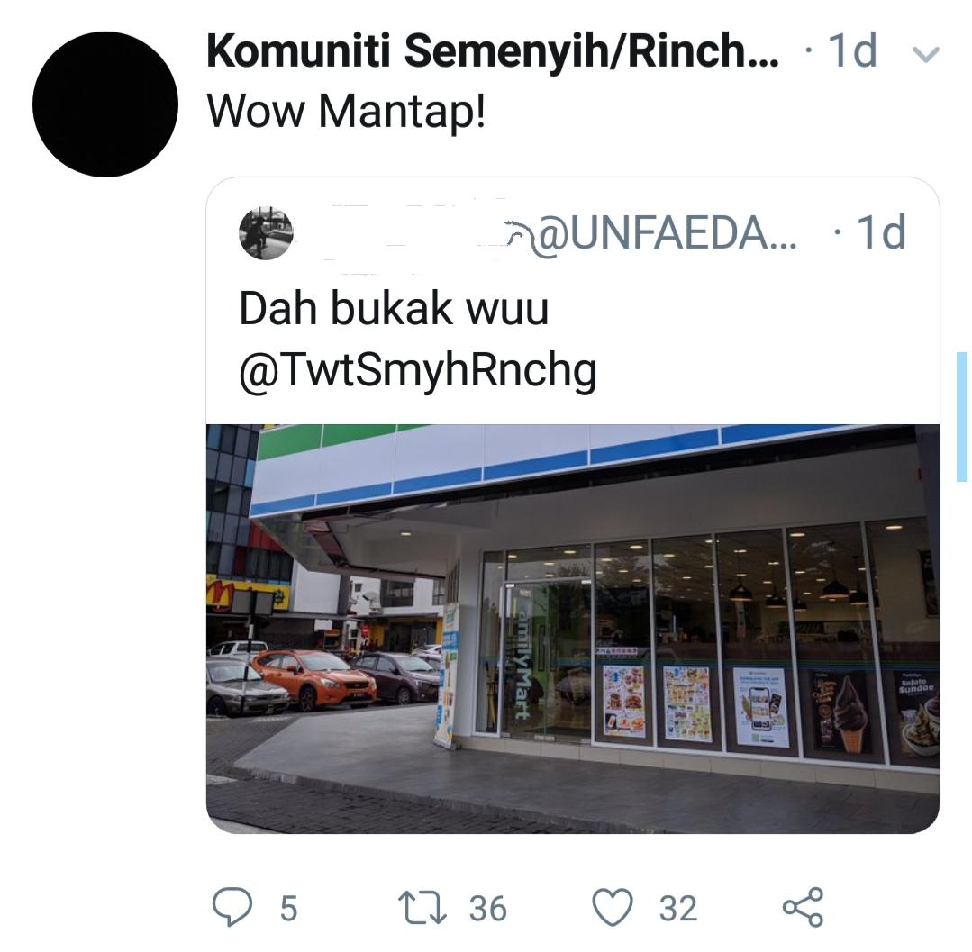 FamilyMart dibuka di Semenyih