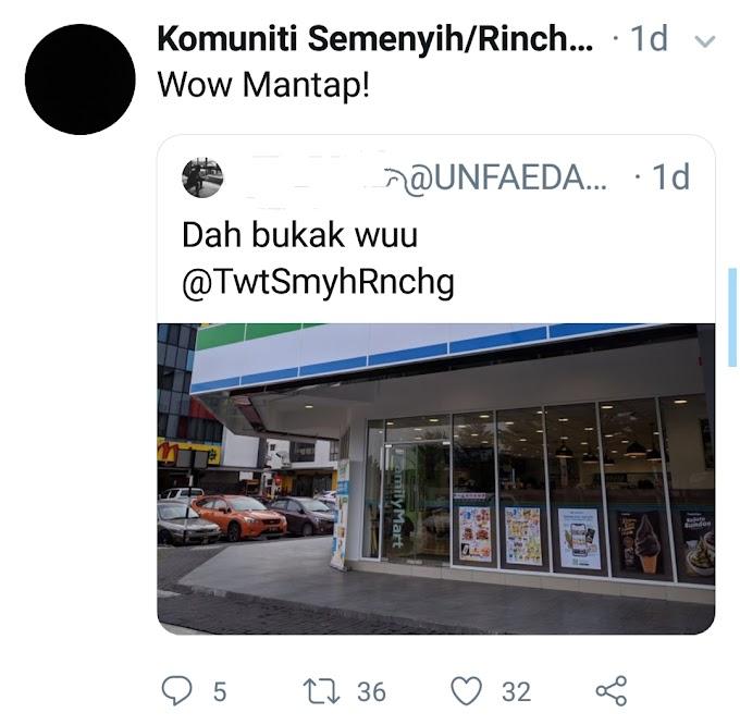 FamilyMart Dah Ada di Semenyih!