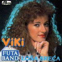 Violeta Miljkovic Viki - Diskografija  Viki_Miljkovic_1992_Losa_sreca_prednja