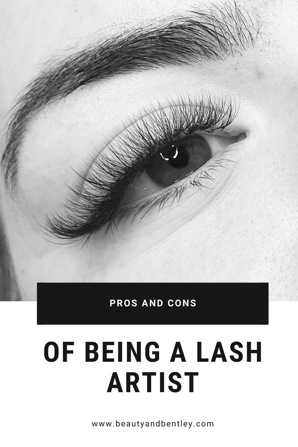 The pros and cons of being a lash artist