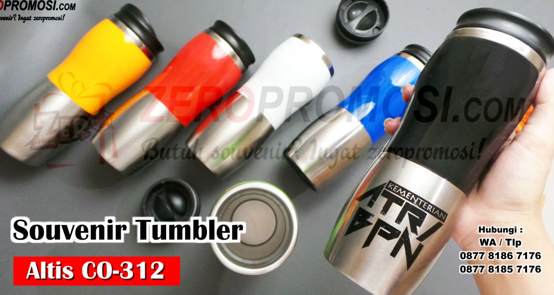Tumbler sport stainless Altis promosi, Souvenir Tumbler Stainless Altis CO-312, Tumbler Sport Stainless, Souvenir Tumbler sport Alumunium