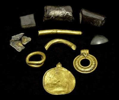 Raras 1500 años de edad amuleto Odin encontrado en Dinamarca