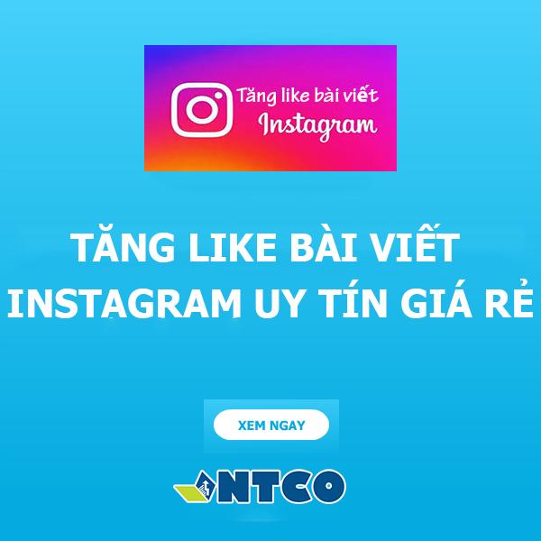 tang like bai viet instagram