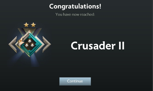 crusader medal dota 2