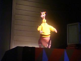 Yellow Shirt Figment Animatronic Journey Into Imagination