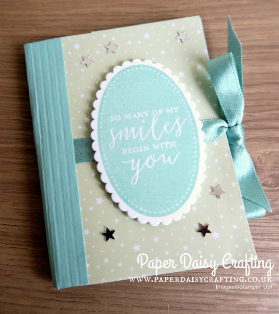 Mini albums made with Stampin' Up! products