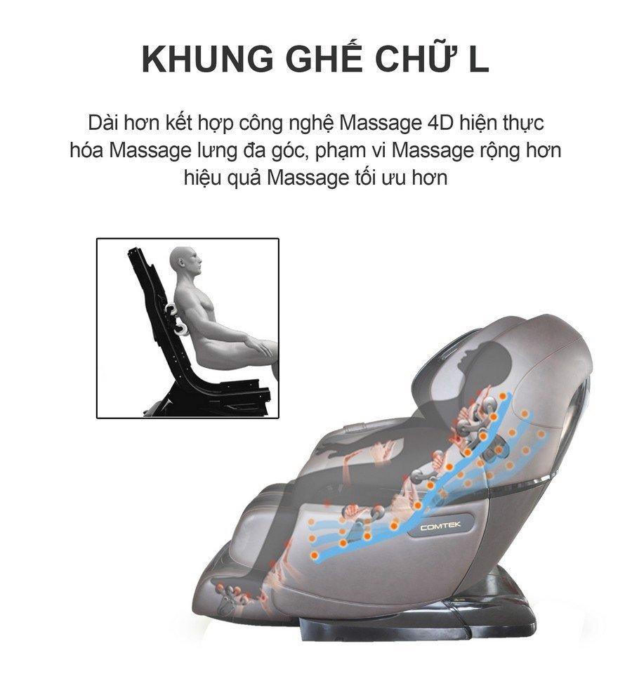 Ghế Massage Cao Cấp Fuji Luxury 8903S Mishio