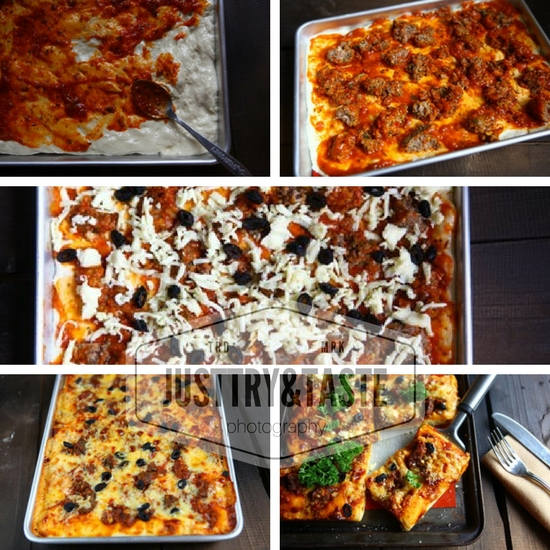Resep Pizza dengan Topping Leftover Meatballs