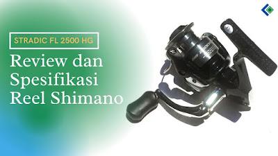 Spesifikasi dan Harga Reel Shimano Sienna 2500 FD