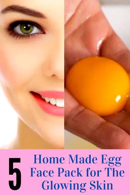 5 Home Made Egg Face Pack For The Glowing Skin