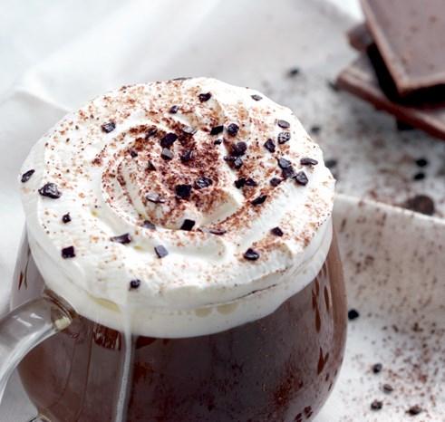 Italian Hot Chocolate #drink #hotdrink