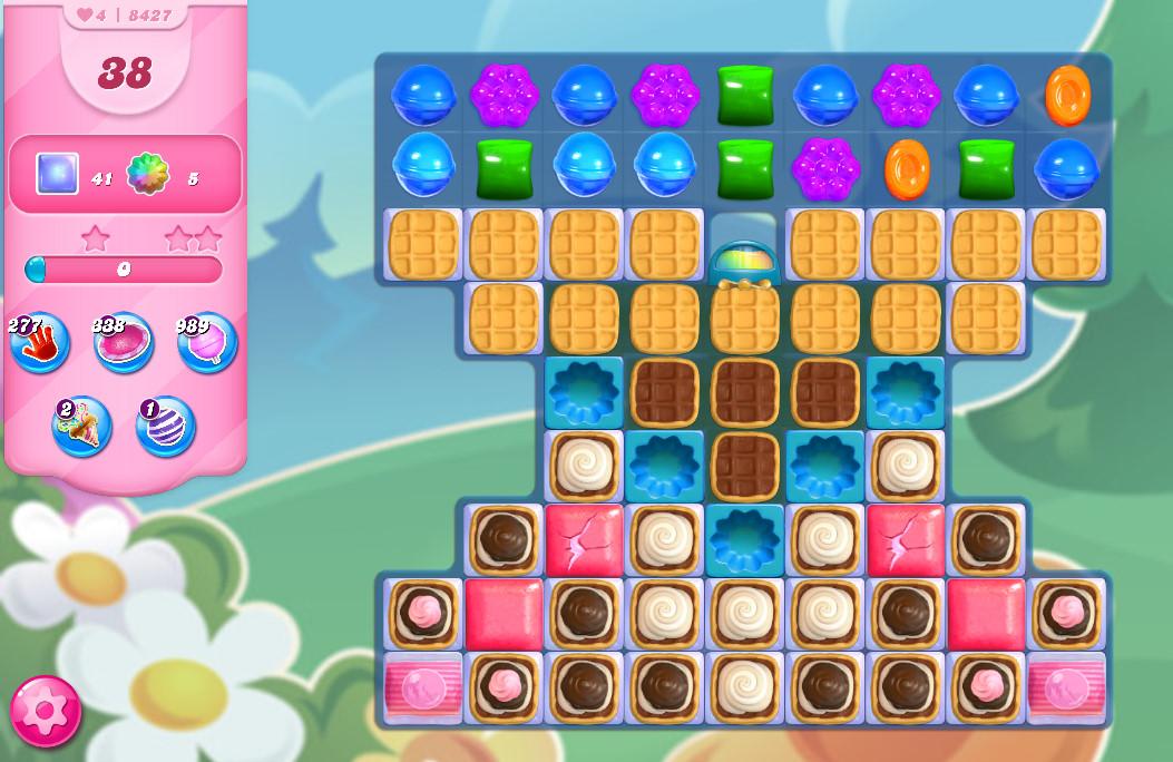 Candy Crush Saga level 8427