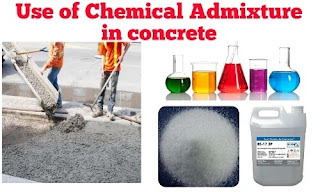 admixtures used in concrete